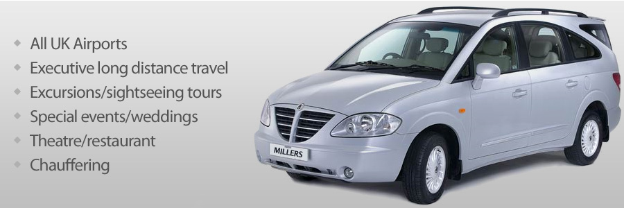 Travel in style in our 7-seater Ssangyong Rodius